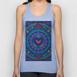 True Love Mandala Unisex Tank Top