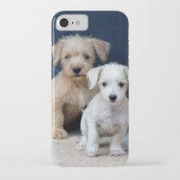 puppies iPhone & iPod Cases featuring Puppies by Rafael Andres Badell Grau