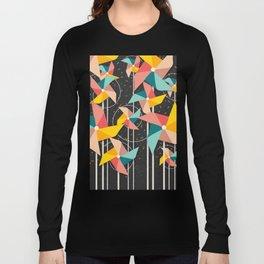 Colourful Pinwheels Long Sleeve T-shirt