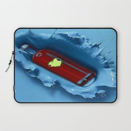 A jug of wine with family and friends Laptop Sleeve