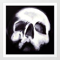 Bones II Art Print