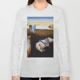 THE PERSISTENCE OF MEMORY - SALVADOR DALI Long Sleeve T-shirt