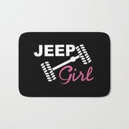 Jeep Girl Bath Mat