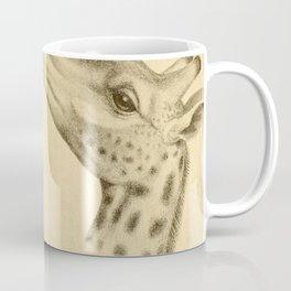 Vintage Illustration of a Giraffe (1908) Coffee Mug