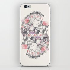 Queen of Roses iPhone & iPod Skin