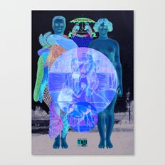 In Your World Of Two Canvas Print