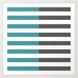 Stripes 2 Art Print