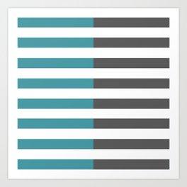 Stripes 2 Art Print
