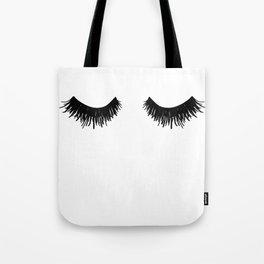 Eyelashes Lashes Art Tote Bag
