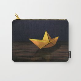 Paper Boat  Carry-All Pouch