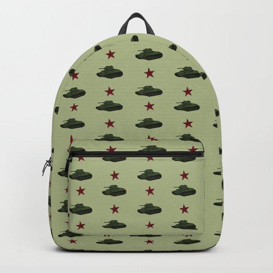 Tank pattern Backpack