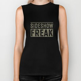 Sideshow Freak Circus Carnival Birthday Party Apparel Biker Tank