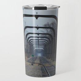 Train Track Pathway Travel Mug