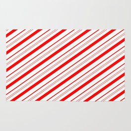 Candy Cane Stripes Rug