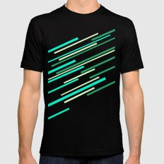 Speed II Mens Fitted Tee SMALL Black