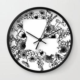 Blooming Louisiana Wall Clock
