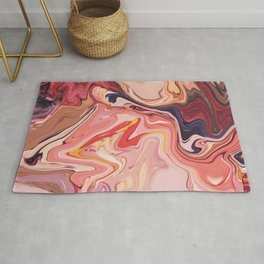 it's a messy type of experiment Rug