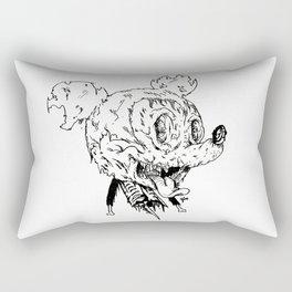 Zombie Mickey Rectangular Pillow