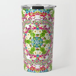Flowers Cyrcle Travel Mug
