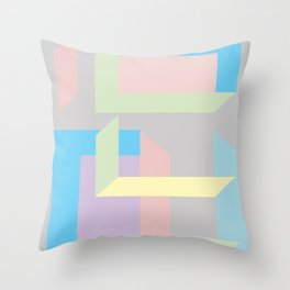 The construction Throw Pillow