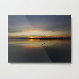 Sunset on Lake Chiemsee - Bavaria Metal Print