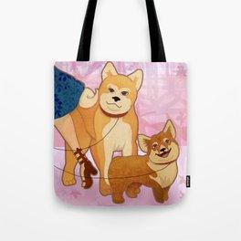 Woof La La Tote Bag
