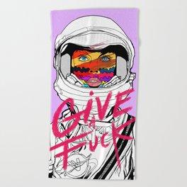 Give a Fuck Beach Towel