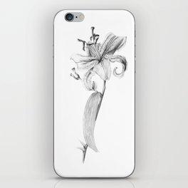 Stargaze Lily iPhone Skin