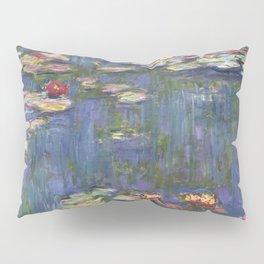 1916-Claude Monet-Waterlilies-200 x 200 Pillow Sham