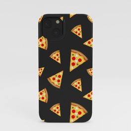 Cool and fun pizza slices pattern iPhone Case