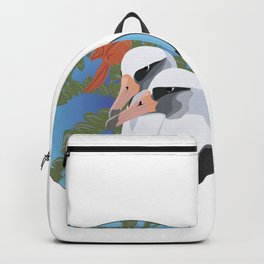 Laysan Albatross and Ohai Backpack