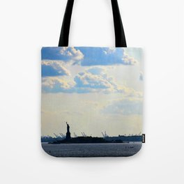 Silhouette Lady Tote Bag