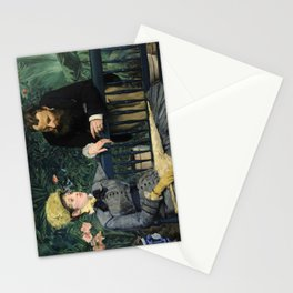 Edouard Manet - In the Conservatory Stationery Cards