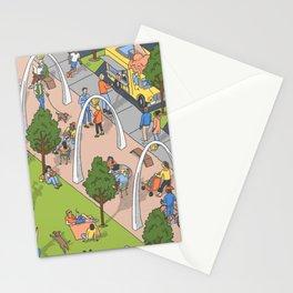 Klyde Warren Park Stationery Cards
