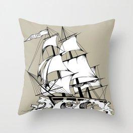 The Breaker Throw Pillow