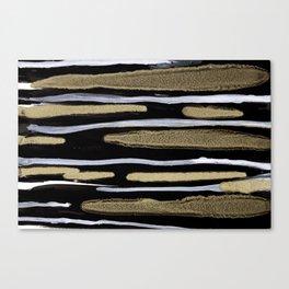 Golden splash Canvas Print
