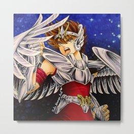 Saint Seiya fan art Metal Print