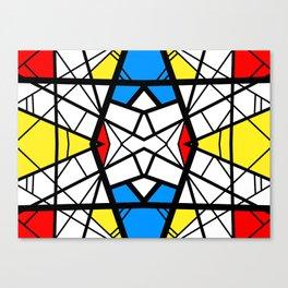 Shattered - geometric graphic design Canvas Print