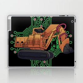 Excavator Geometric Laptop & iPad Skin