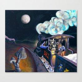 Casey Jones Canvas Print