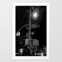 Harlem at Night Art Print