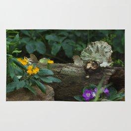 Floral Print 095 Rug