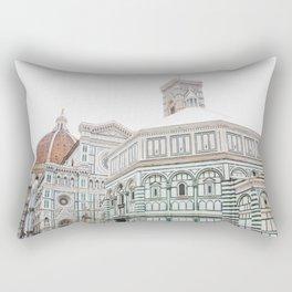 Florence, Italy Rectangular Pillow