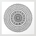 Zendala - Zentangle®-Inspired Art - ZIA 16 by tenthousandtangles
