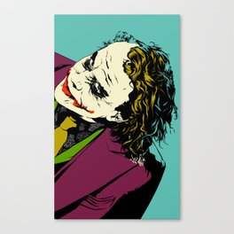 Joker So Serious Canvas Print