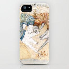 Ferret love iPhone Case