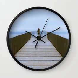 Lake of NEUCHATEL switzerland Wall Clock