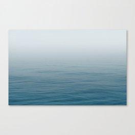 Ocean Blue Gradient Canvas Print
