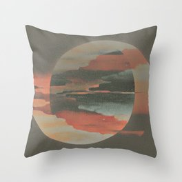 Night and Day Throw Pillow