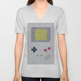 Vintage GameBoy 1989 Unisex V-Neck